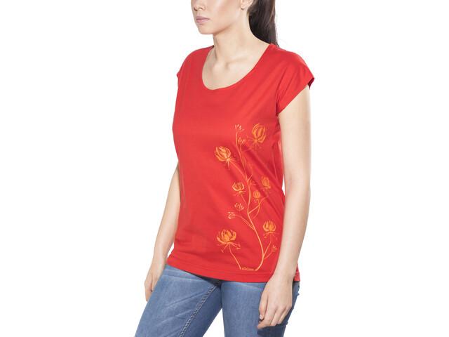 Elkline Freilich T-Shirt Donna, truered